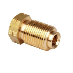 "Brass Brake Pipe fitting Male M12 x 1mm 3/16"" pipe"