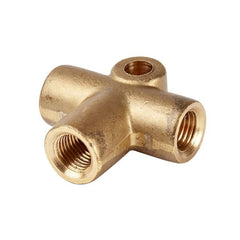 Brass 3-way Connector