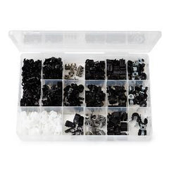 Plastic Clip Assortment 206 pieces