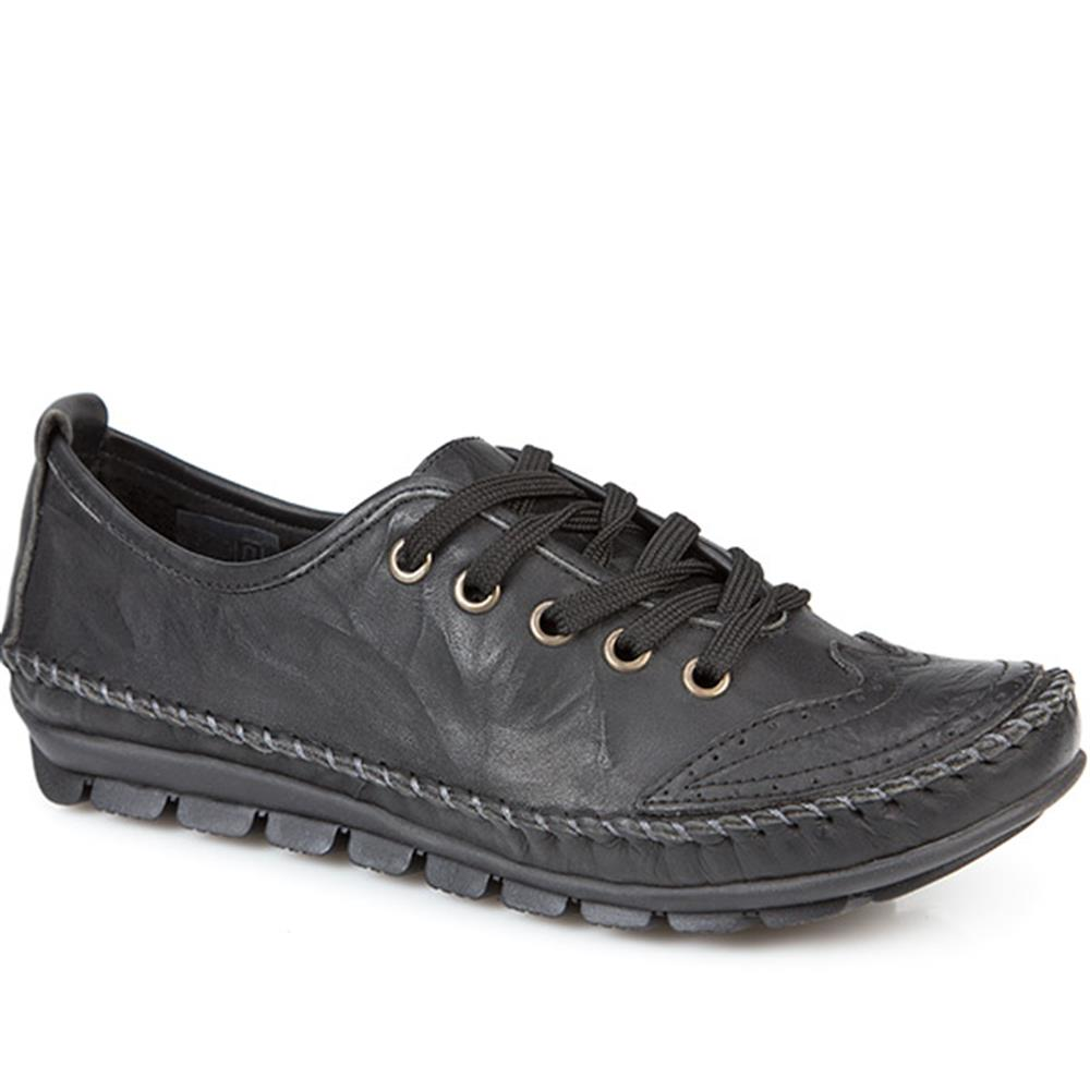 Leather Lace Up Shoe (SIMIN2150) by Kinloch
