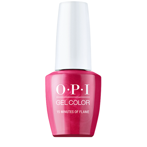 OPI GelColor - 15 Minutes of Flame 0.5 oz - #GCH011