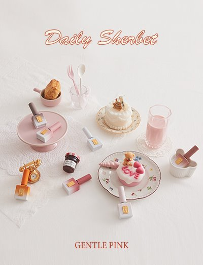GENTLE PINK - Daily Sherbet - Winter 2020 Collection