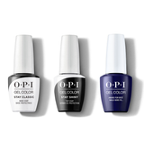 OPI - GelColor Combo - Stay Classic Base, Shiny Top & Award for Best Nails goes to…