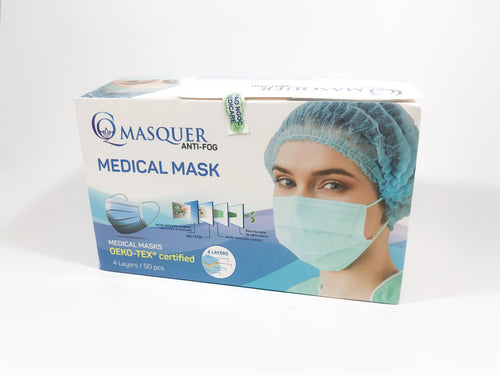 MEDICARE PROTECT Blue Disposable Mask - Box of 50