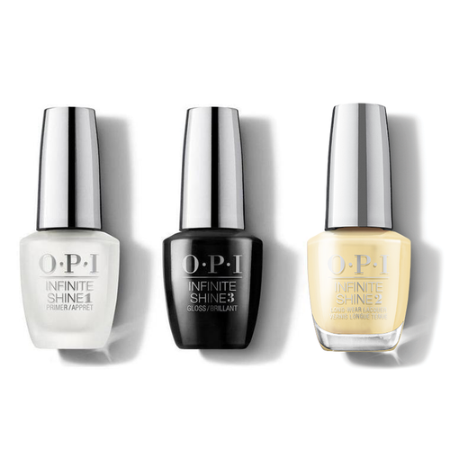 OPI - Infinite Shine Combo - Base, Top & Bee-hind the Scenes