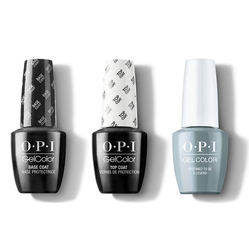 OPI - GelColor Combo - Base, Top & Destined to be a Legend