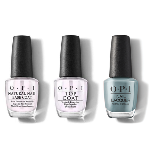 OPI - Nail Lacquer Combo - Base, Top & Destined to be a Legend