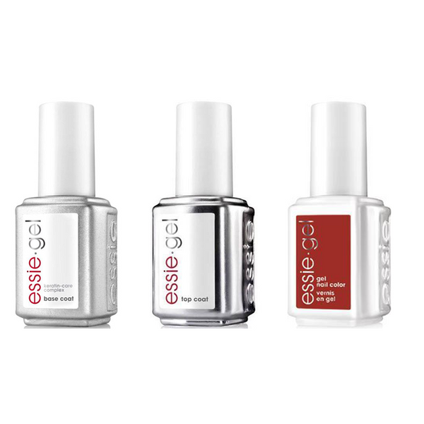 Essie Combo - Gel, Base & - Bed Rock & Roll 0.5 oz - #605G