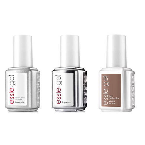 Essie Combo - Gel, Base & - Easily Suede 0.5 oz - #1573G