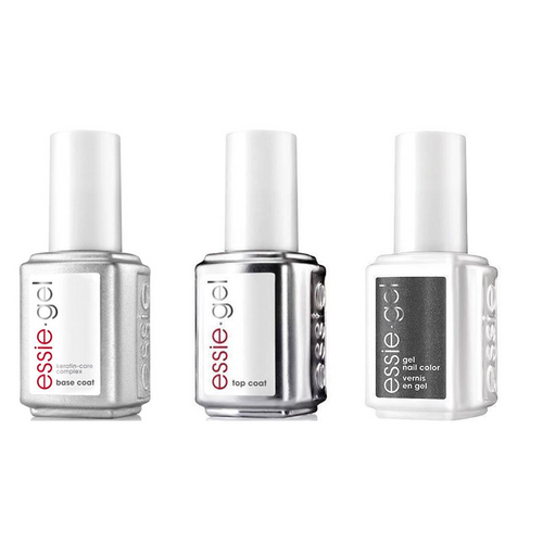 Essie Combo - Gel, Base & Cashmere Bathrobe 847G