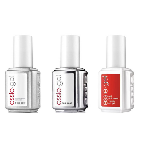 Essie Combo - Gel, Base & Glamping Not Camping 5017