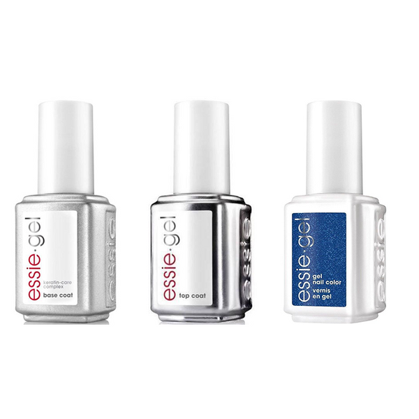 Essie Combo - Gel, Base & Loot the Booty 0.5 oz - #994G