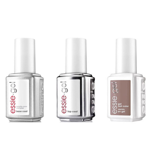 Essie Combo - Gel, Base & Mink Muffs 698G