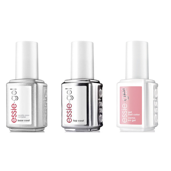 Essie Combo - Gel, Base & More Than A Cute Face 5040