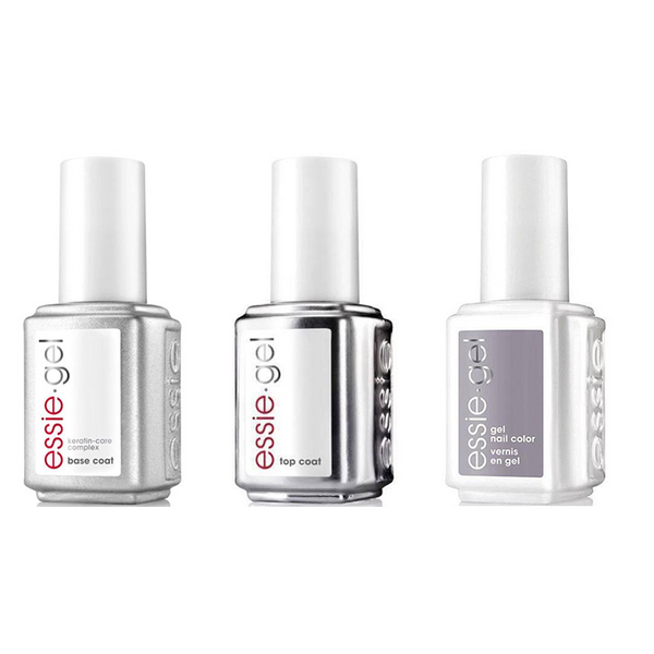 Essie Combo - Gel, Base & On A Silver Spoon 5062