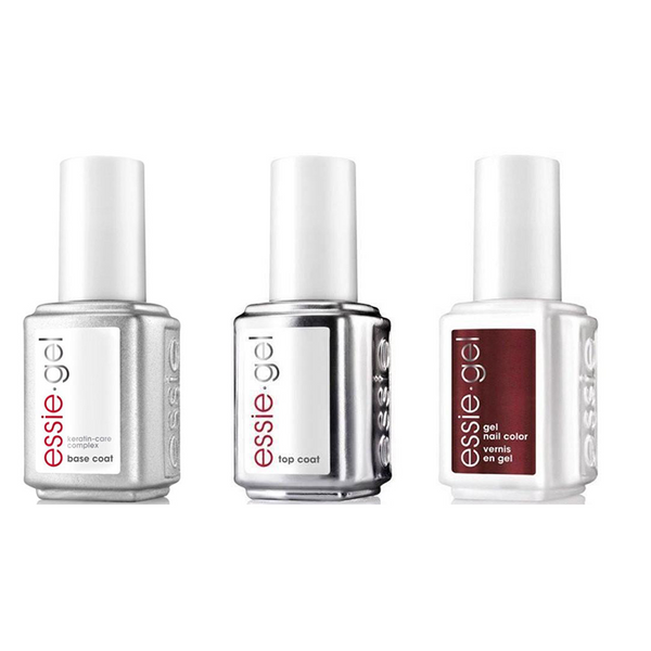 Essie Combo - Gel, Base & Ready To Boa 0.5 oz - #1008G