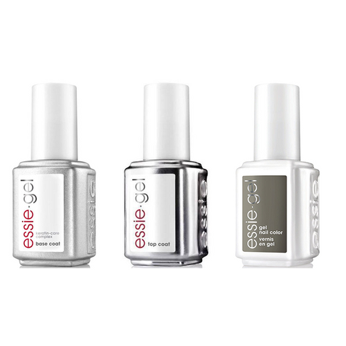 Essie Combo - Gel, Base & Sew Excited 5050