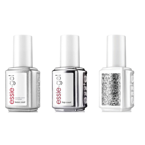 Essie Combo - Gel, Base & Silver Lining 5059