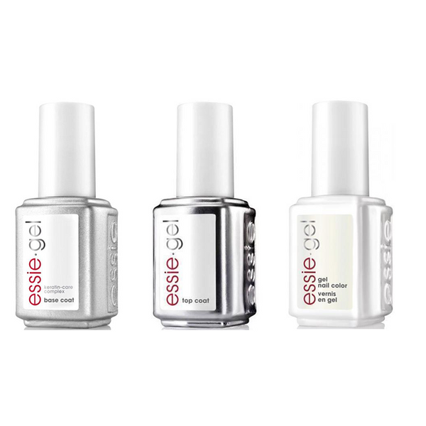 Essie Combo - Gel, Base & Sweet Souffle 0.5 oz - #1053G