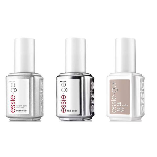 Essie Combo - Gel, Base & Wild Nude .5 oz - #1124G
