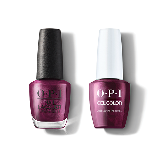 OPI - Gel & Lacquer Combo - Dressed To The Wines