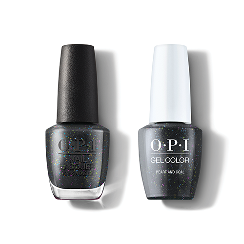 OPI - Gel & Lacquer Combo - Heart And Coal
