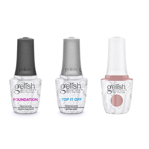 Harmony Gelish Combo - Base, Top & Keep It Simple