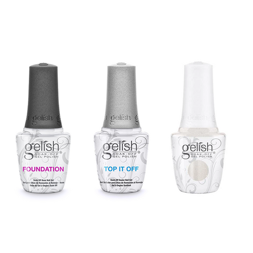 Harmony Gelish Combo - Base, Top & No Limits