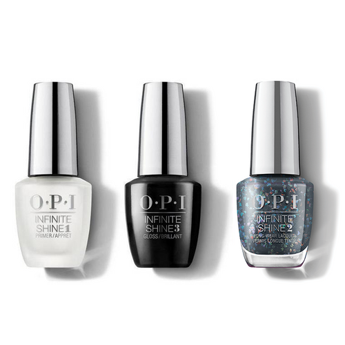 OPI - Infinite Shine Combo - Base, Top & Puttin' On The Glitz - #HRM50