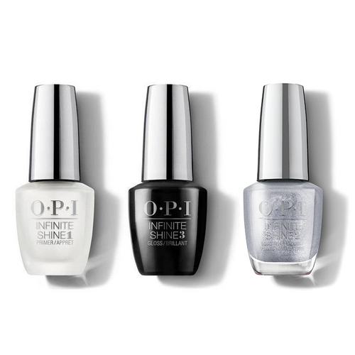 OPI - Infinite Shine Combo - Base, Top & Tinsel, Tinsel 'Lil Star - #HRM45