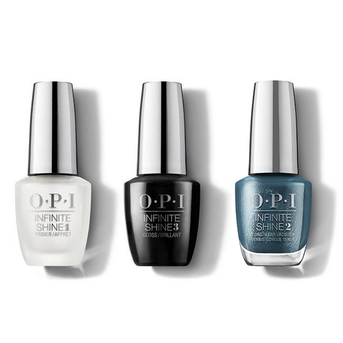 OPI - Infinite Shine Combo - Base, Top & To All A Good Night - #HRM46