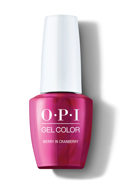 OPI GelColor - Merry In Cranberry 0.5 oz - #HPM07