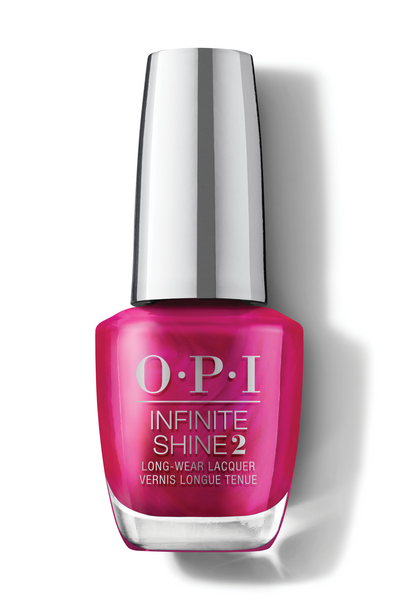 OPI Infinite Shine - Merry In Cranberry - #HRM42