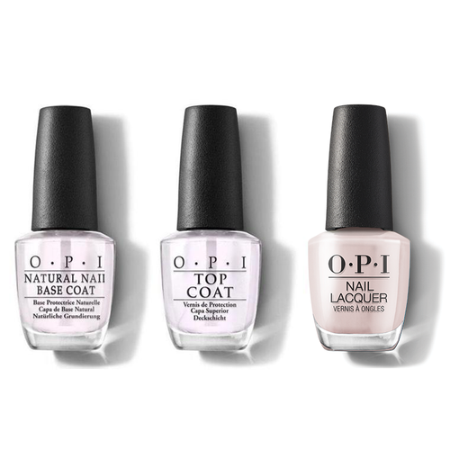 OPI - Nail Lacquer Combo - Base, Top & Movie Buff