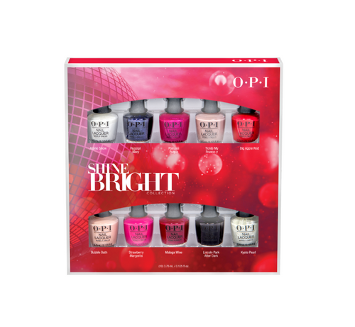 OPI Nail Lacquer - Mini 10-Pack