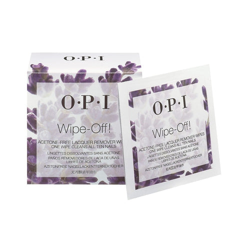 OPI - Nail Lacquer Wipes (Pack of 10)