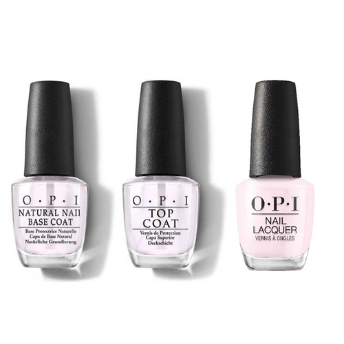 OPI - Nail Lacquer Combo - Base, Top & Let's Be Friends!