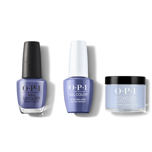 OPI - Gel, Lacquer & Dip Combo - Oh You Sing, Dance, Act and Produce?