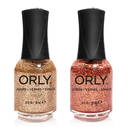 Orly - Nail Lacquer Combo - Inexhaustable Charm & Untouchable Decadence