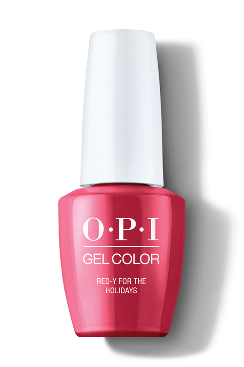 OPI GelColor - Red-y For The Holidays 0.5 oz - #HPM08