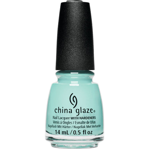 China Glaze - Live In The Mo-Mint 0.5 oz - #85007