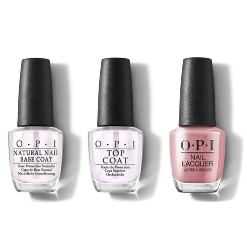 OPI - Nail Lacquer Combo - Base, Top & Suzi Calls the Paparazzi