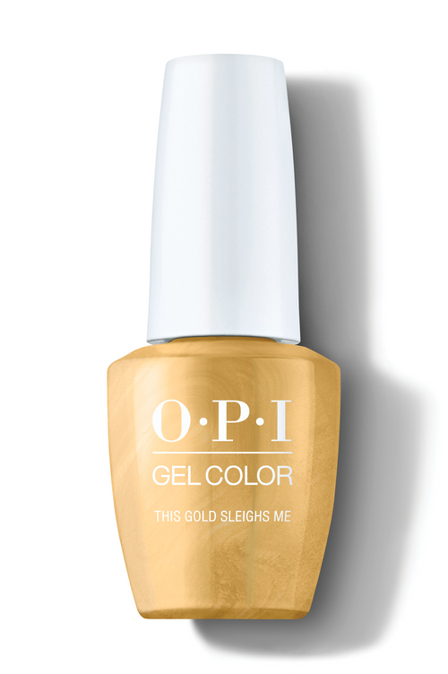 OPI GelColor - This Gold Sleighs Me 0.5 oz - #HPM05