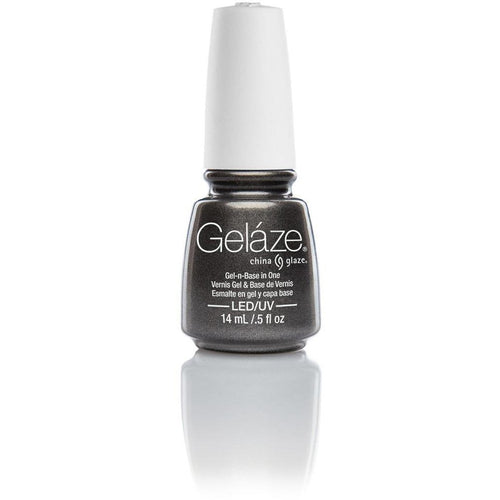 China Glaze Gelaze - Black Diamond 0.5 oz - #81616-Beyond Polish