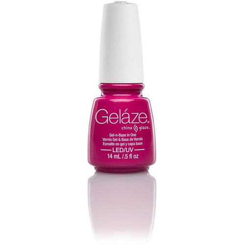 China Glaze Gelaze - Caribbean Temptation 0.5 oz - #81639-Beyond Polish