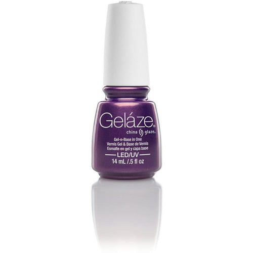 China Glaze Gelaze - Coconut Kiss 0.5 oz - #81621-Beyond Polish