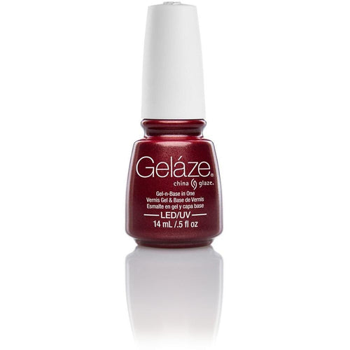 China Glaze Gelaze - Long Kiss 0.5 oz - #81634-Beyond Polish