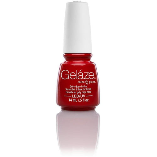China Glaze Gelaze - Salsa 0.5 oz - #81636-Beyond Polish