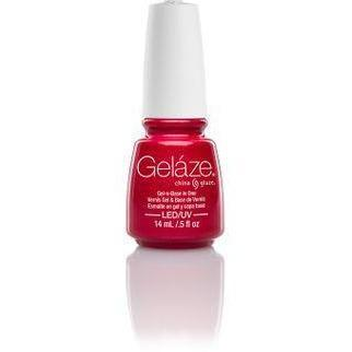 China Glaze Gelaze - Strawberry Fields 0.5 oz - #81810-Beyond Polish