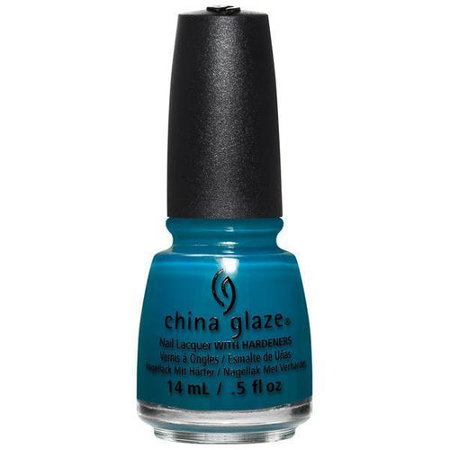 China Glaze - Jagged Little Teal 0.5 oz - #83611-Beyond Polish